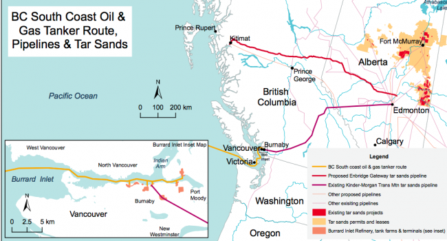 BC pipeline-tanker map
