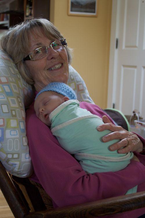 Dylan and grandma